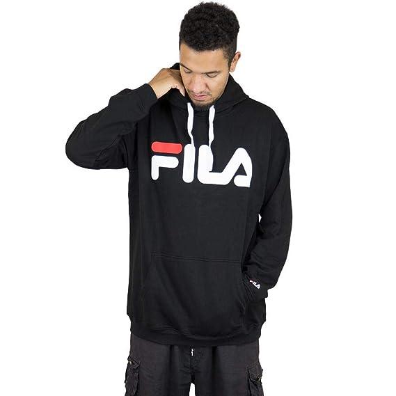 Fila Hoody Urban Line Classic Logo schwarz: Amazon.de: Bekleidung