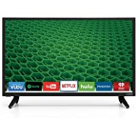 VIZIO D24-D1 D-Series 24 Class LED Smart TV (Black) (Certified Refurbished)