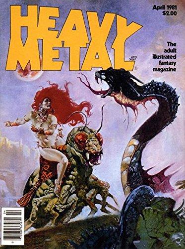 Heavy Metal April 1981 Richard Corben, Robert E. Howard