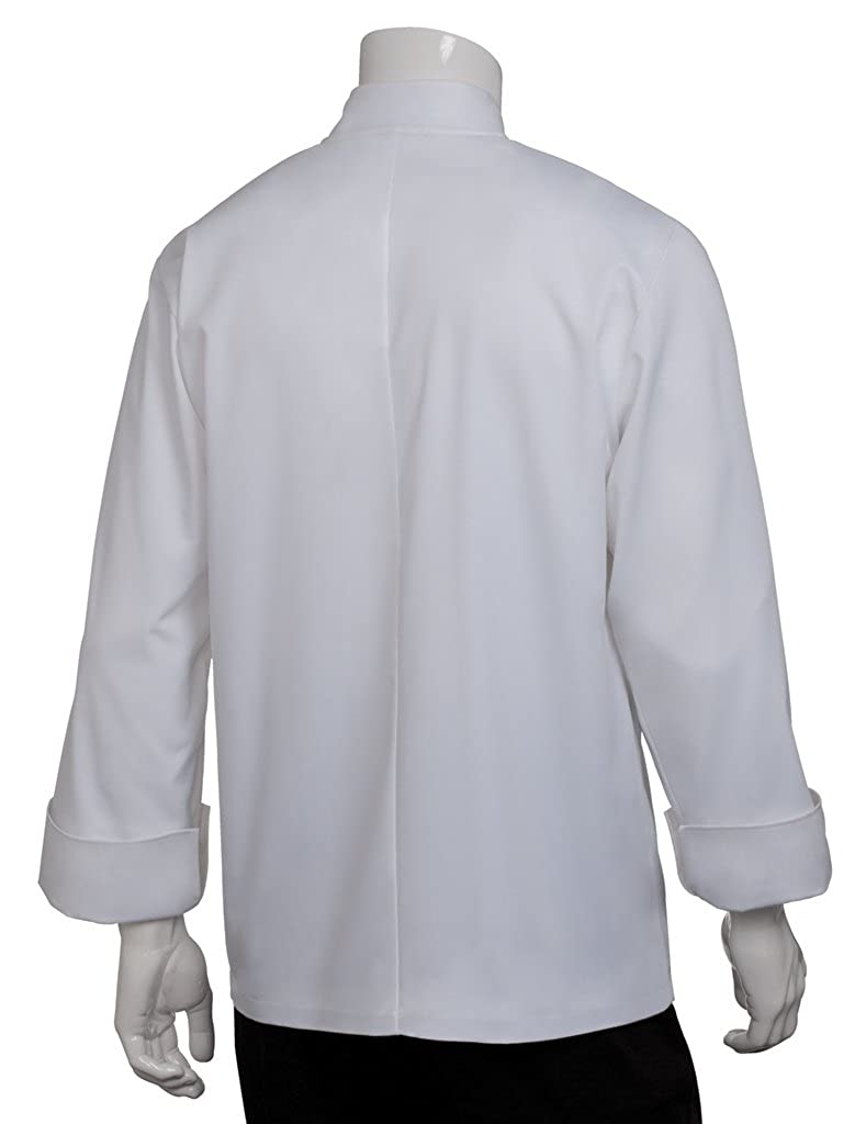WCCW Chef Works Mens Le Mans Chef Coat