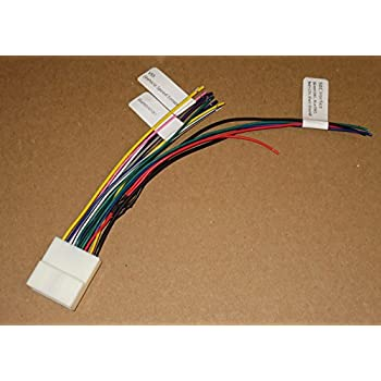 51sk8VjYxwL._SL500_AC_SS350_ amazon com 28 pin head unit wiring harness adapter car electronics radio harness adapter at bayanpartner.co