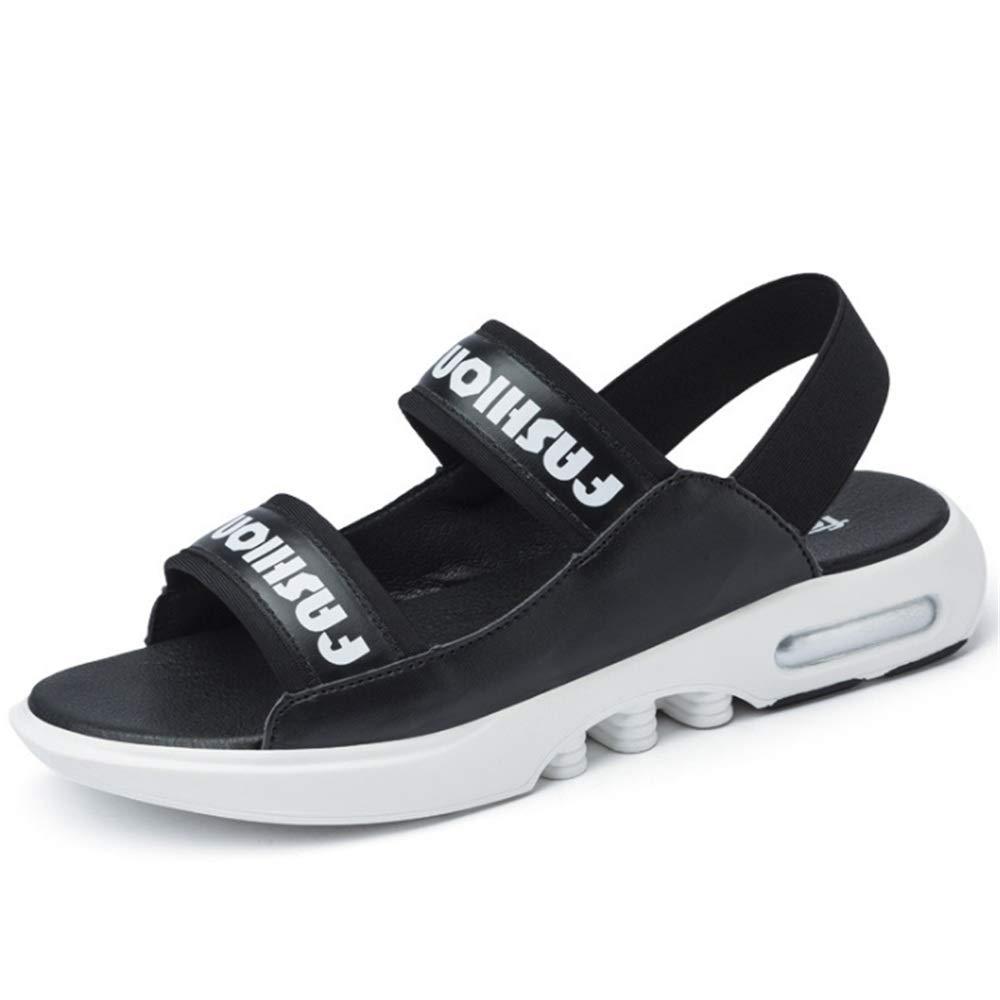 Wagsiyi Hausschuhe Sandale Herren Outdoor schwarz Sports Beach Schuh Breathable schwarz Outdoor Sandalen Strandschuhe (Farbe : Schwarz, Größe : 40 2/3 EU) Schwarz 81e7da