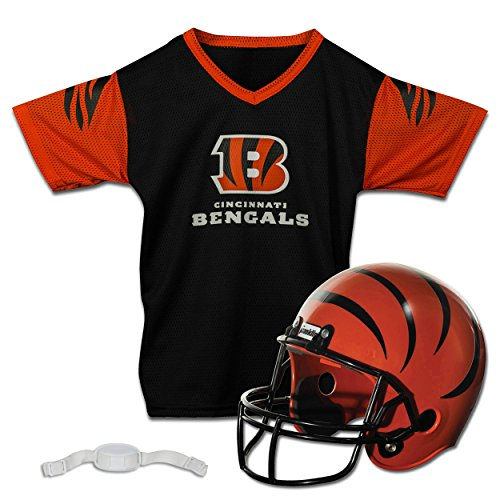 Franklin Sports NFL Cincinnati Bengals Replica Youth Helmet and Jersey Set]()