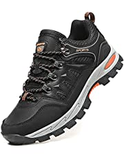 DimaiGlobal Hiking Shoes Mens Trekking Outdoor Waterproof Camping Shoes Mountaineering Backpacking Shoes Non-Slip