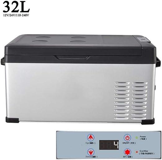 Mini Nevera Caja eléctrica fría o caliente de CC / CA, compresor ...