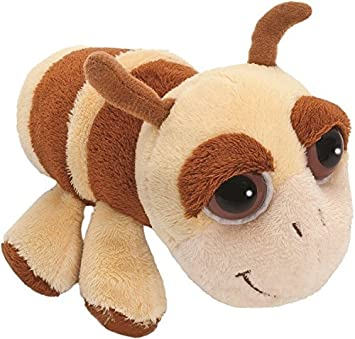 Suki Gifts Lil Peepers Woodland Ally Ant Soft Boa Plush Toy (Small, Brown/