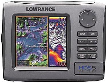 Lowrance HDS-5 - GPS Marino con Plotter y fatómetro: Amazon.es ...