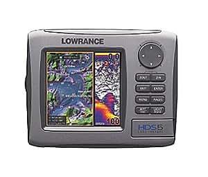 Lowrance HDS-5 - GPS marino con plotter y fatómetro