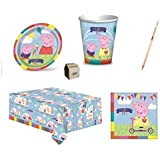 IRPot -KIT COMPLEANNO PARTY PEPPA PIG 40 PERSONE