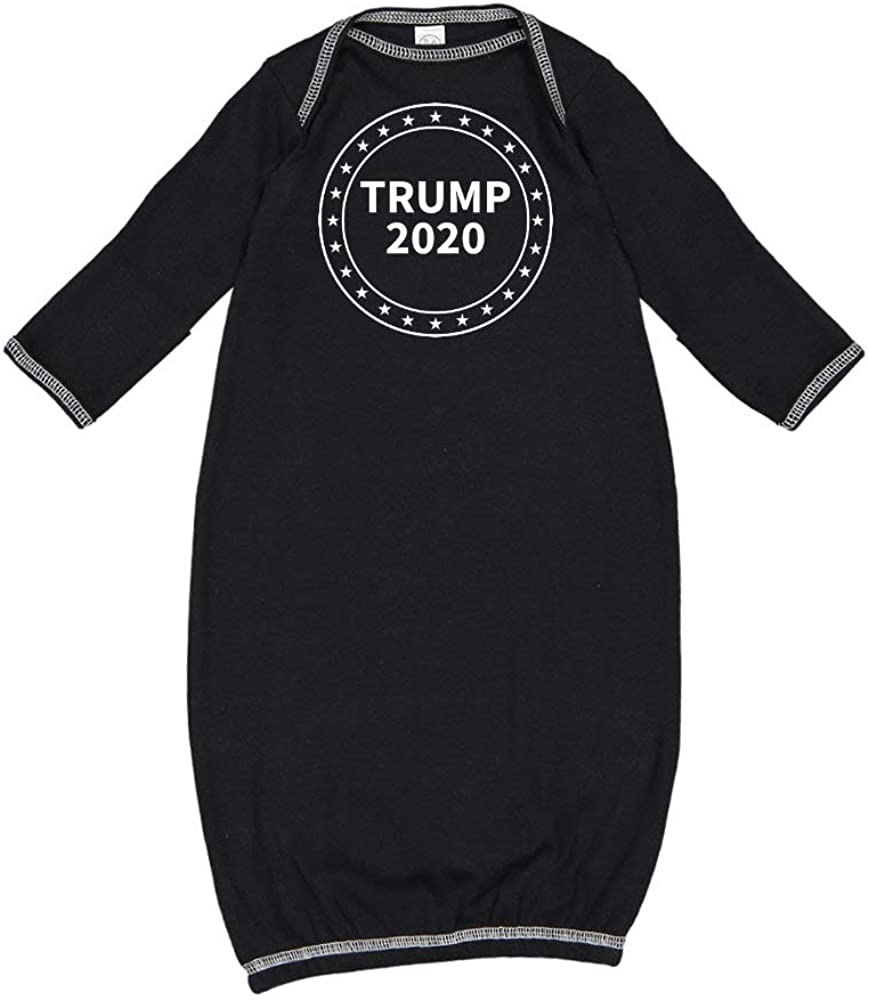 Mashed Clothing Trump 2020 Presidential Election MAGA Republican Baby Cotton Sleeper Gown