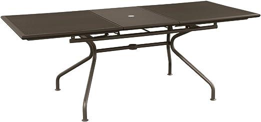 Emu Piano Tavolo Allungabile.Emu Tavolo Athena Allungabile Art 3428 Cm 160 50 X 90 Colore