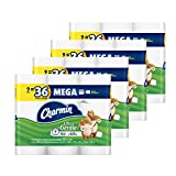 Charmin Ultra Gentle Toilet Paper 9 Mega Rolls (pack of 4) Packaging May Vary