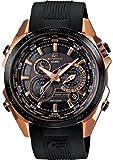 (US) Casio Edifice Black X Rose Gold Dial Men's Watch - EQS500CG-1A