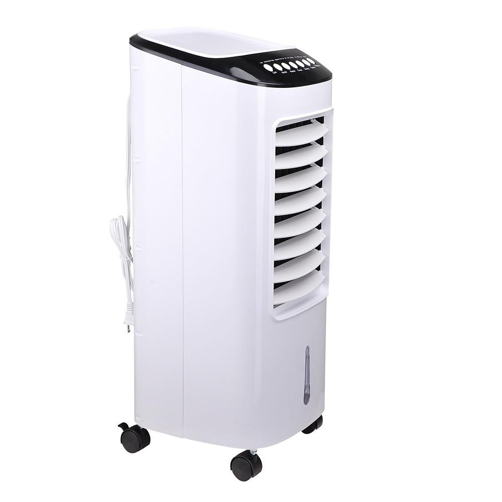 Triprel Inc Portable 65W Air Cooler Evaporative Fan Indoor Cooling Humidifier w/Remote Control
