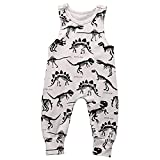 Best Infant Romper For Babies - Summer Baby Boys Animal Printed Sleeveless Romper One-piece Review