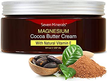 NOUVEAU Crème de magnésium pour le calme de la douleur, les crampes dans les jambes, le sommeil et les muscles ...
