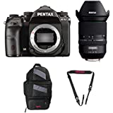 Pentax K-1 Mark II with Lens Kit (with 24-70mm Lens) + Pentax 85231 Sling Bag 2 & Pentax 85232 Padded DSLR Strap