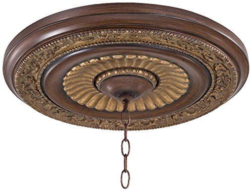 Minka Lavery Minka 1940-126 Traditional Ceiling Medallion from Belcaro Collection in Bronze/Darkfinish, 20.75 inches Medalion, Upc-747396044880