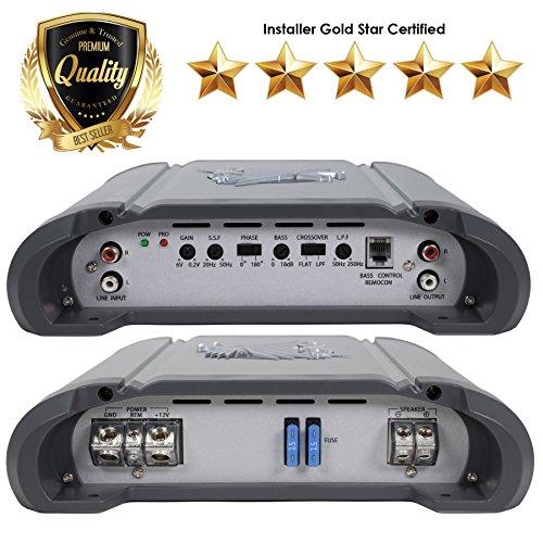 SoundXtreme ST-1550.1 1 Ohm 1550 W w/ Remote Level Control