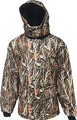 Waterfowl Camo Waterproof Hunting Parka Jacket