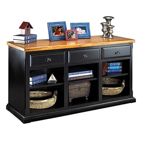 kathy ireland Home by Martin Southampton 3-Drawer Storage Console - Fully Assembled (Cottage Southampton Collection)