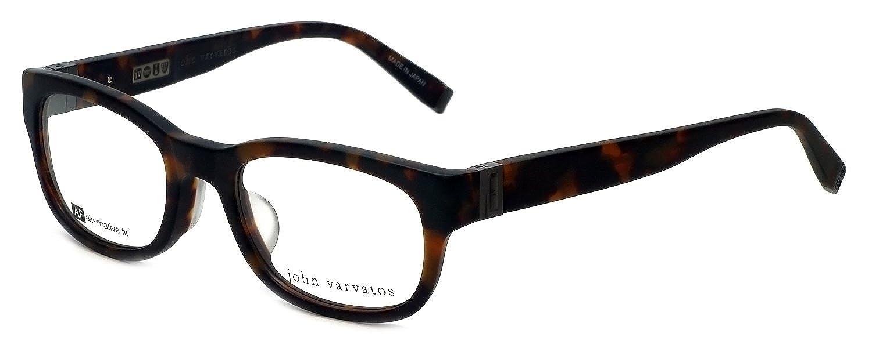a9d6441c146 Amazon.com  John Varvatos V337 Asian Fit Eyeglasses Tortoise  Clothing