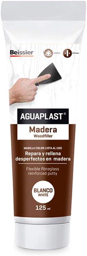 AGUAPLAST - Masilla Reparar Madera Incolor Aguaplast 125 Ml