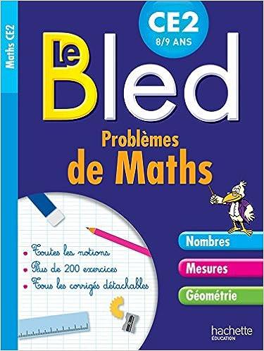 Livre gratuits Cahier Bled Problèmes De Maths CE2 pdf epub