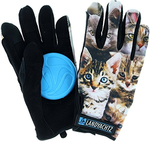 Landyachtz Cat Pattern Slide Gloves XS
