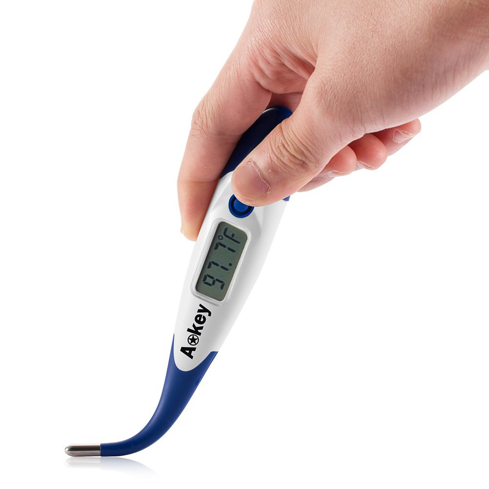 Aokey Medical Professional Digital Clinical Thermometer For Kids/Children/Bab.. 10