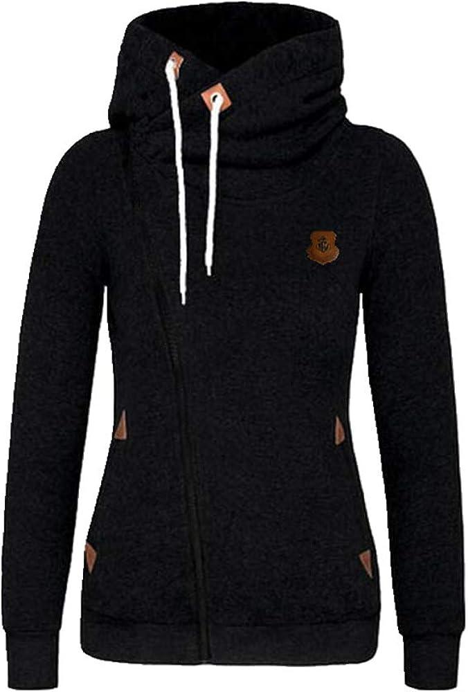 NOBRAND New Sweatshirt Cardigan Side Zipper Hooded Sweater Coat