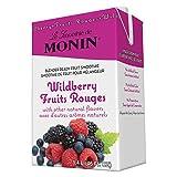 Monin Blender Ready Wildberry Fruit Smoothie Mix, 46 Ounce -- 6 per case.