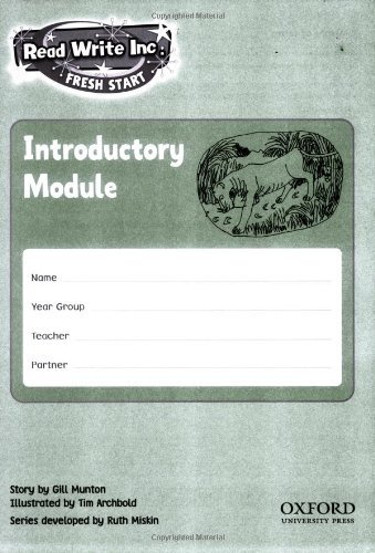 Download Read Write Inc. Fresh Start: Modules 11-20: Pack of 10 by Ruth Miskin (2006-11-09) PDF