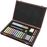 Art Advantage Pentalic 21-Piece Drawing Wood Box Set