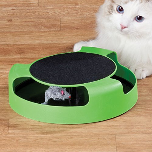 Feline Frenzy Cat Toy - Dependable Cat Mouse Toy for Kittens- Cats - Catch the Mouse Motion -Cat Toy- Incredibly Fun to Play with & Amusing to Watch - Get It Now