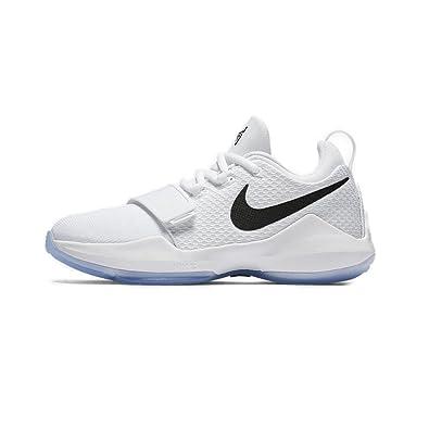super popular ca598 d2899 NIKE Boys' Grade School PG 1 Basketball Shoes: Amazon.co.uk ...