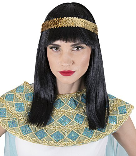 Kangaroo Halloween Accessories - Cleopatra Wig -
