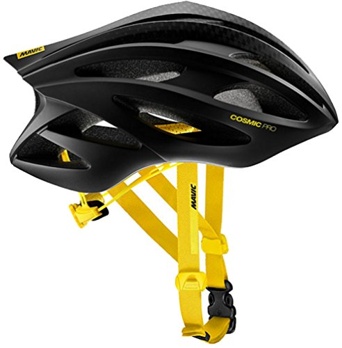 Mavic Cosmic Pro Cycling Helmet - Black/Yellow Large