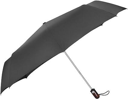 2 StückHerren Regenschirm Auf-Zu-Automatik groß stabil sturmsicher Taschenschirm