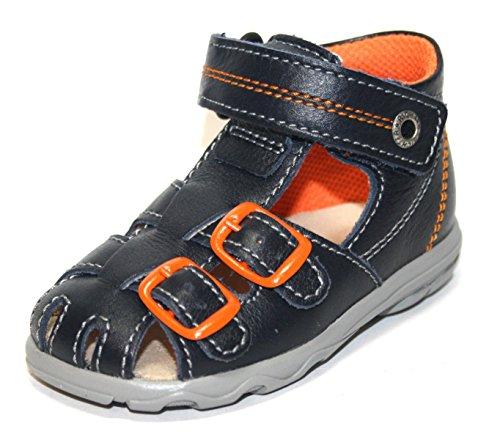 Juge Chaussures pour enfants 2106351garçon & fille Sandales Unisexe - Bleu - Blau (Atlantic 7200), 24 EU