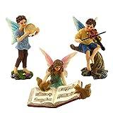 Pretmanns Fairy Garden Fairies – Miniature Accessories – 3 Pieces Review