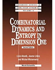 Combinatorial Dynamics And Entropy In Dimension One (2nd Edi: 5