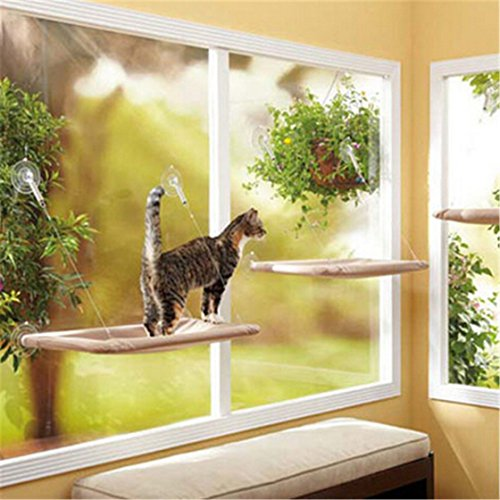 ShungHo Pet Cat Sunny Seat Window Hammock Hanging Shelf Bed