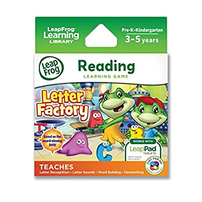 LeapFrog Letter Factory Learning Game (works with LeapPad Tablets and Leapster GS): Toys & Games