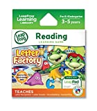 Software : LeapFrog Letter Factory Learning Game (works with LeapPad Tablets and Leapster GS)