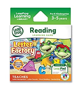 leapfrog letter factory phonics leapfrog letter factory learning works 22720