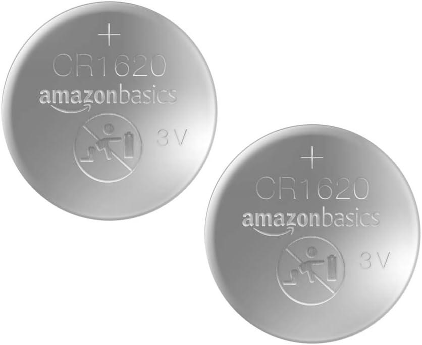 2er-Packung Basics CR1632 Lithium-Knopfzelle