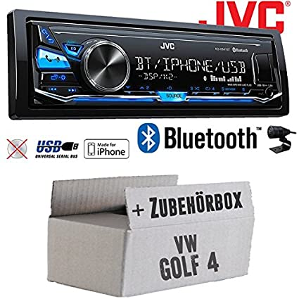 Verwonderend VW Golf 4 IV - JVC KD-X341BT - Bluetooth | MP3 | USB | Android KO-69