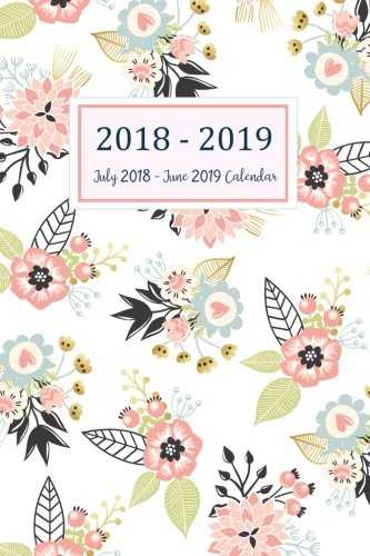 July 2018 - June 2019 Calendar: Two Year - Daily Weekly Monthly Calendar Planner | 12 Months July 2018 to June 2019 For Academic Agenda Schedule planner july 2018 to june 2019 (Volume 8)