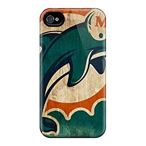 Scratch Protection Hard Phone Case For Iphone 6 (Oqe19922gySY) Support Personal Customs Nice Miami Dolphins Pictures